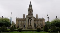 An image of the exterior of Bolton Town Hall