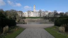 An image of the Trent building of Nottingham University