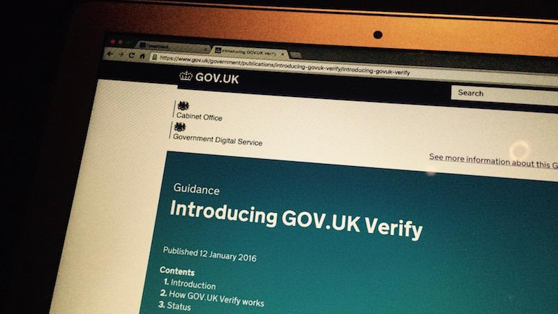 GOV.UK Verify GDS