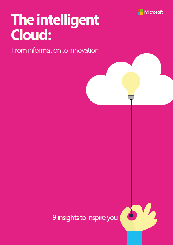 A picture of the Intelligent Cloud e-book