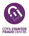 A picture of the CIPFA Counter Fraud Centre logo