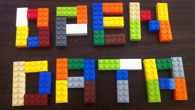 Open data in lego