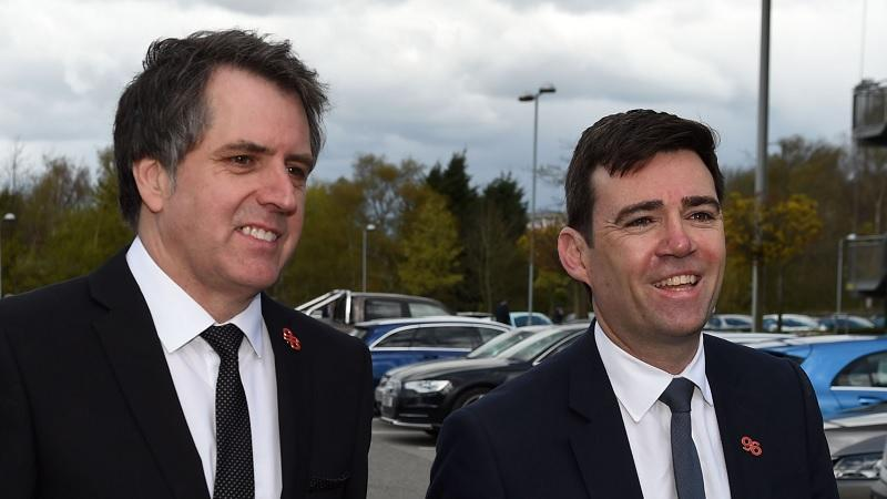 Steve Rotheram and Andy Burnham