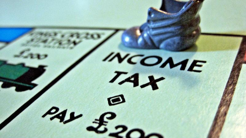 Monopoly income tax