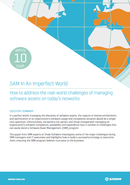 A picture of the SAM in an Imperfect World whitepaper