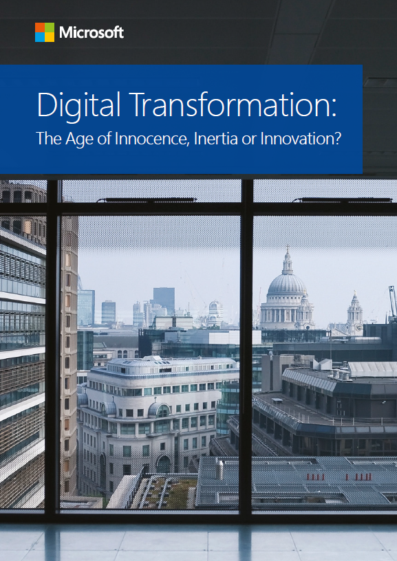 A picture of Digital Transformation: The Age of Innocence, Inertia or Innovation?