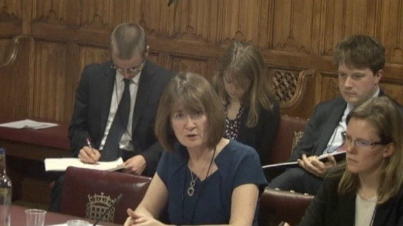 Middleton giving evidence
