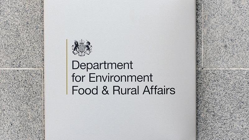 Department for the Environment, Food and Rural Affairs (Defra) sign - Nick Ansell/PA Wire