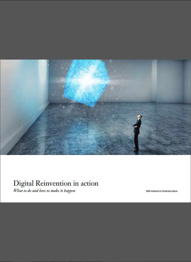 A picture of the Digital reinvention whitepaper