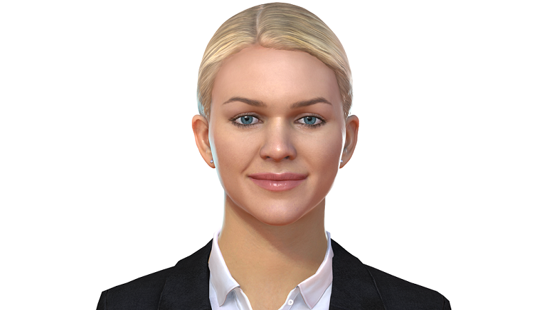 A picture of the visual representative of IPsoft's 'Amelia' cognitive agent