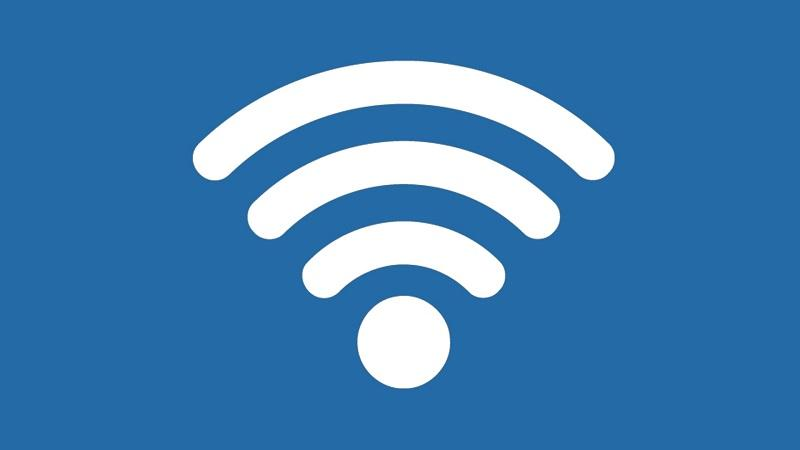 A picture of the WiFi symbol