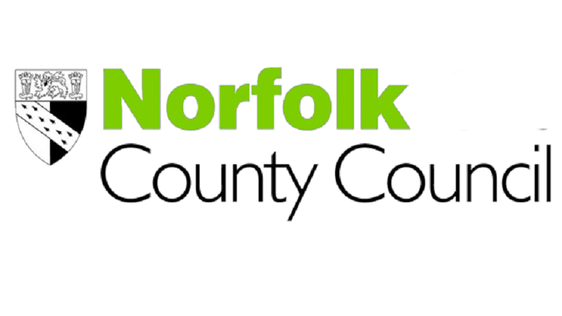 An image of Norfolk County Council's logo