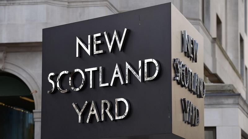 New Scotland Yard sign Photo PA