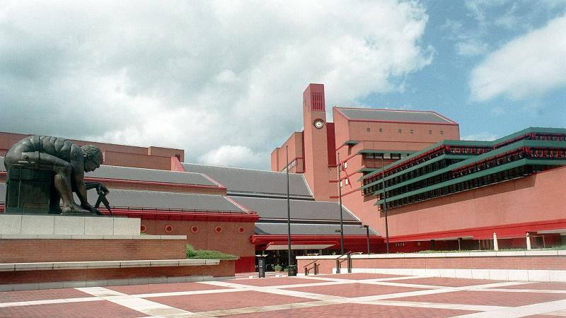 Image of the British Library in Kings Cross