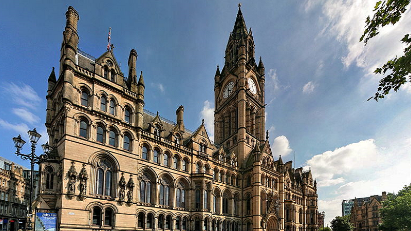 An image of Manchester Town Hall