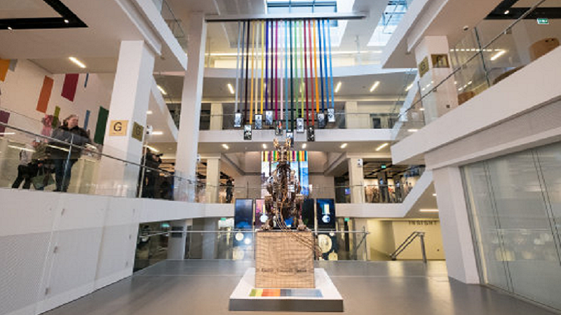 Image of the interior of the National Army Museum