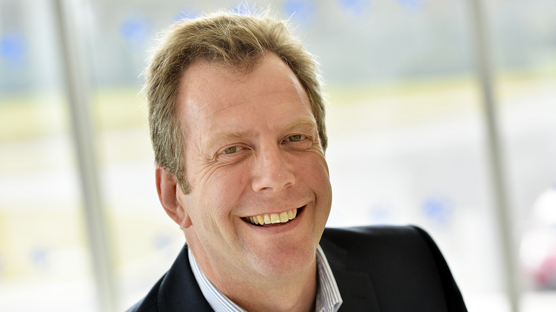 A head-and-shoulders image of Steve Hall, CEO of Crown Hosting Data Centres