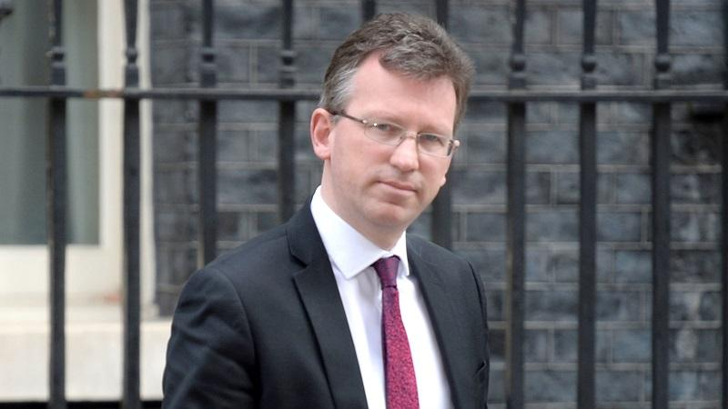 An head and shoulders image of culture secretary Jeremy Wright