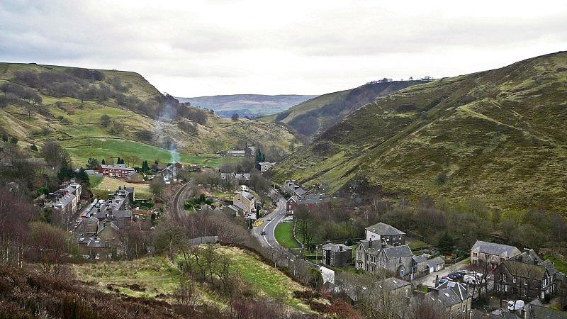 An image of the Calder Valley in West Yorkshire