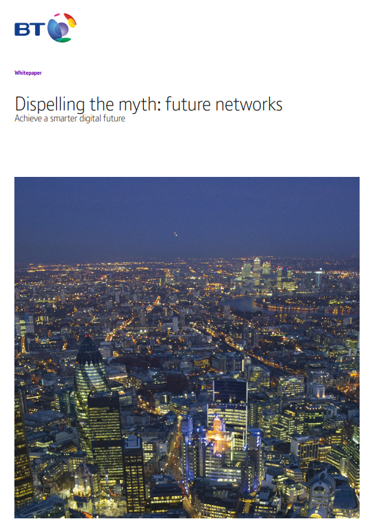 A picture of Dispelling the myth: future networks