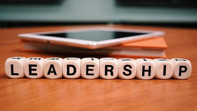 Am image of letters spelling out the word 'leadership'