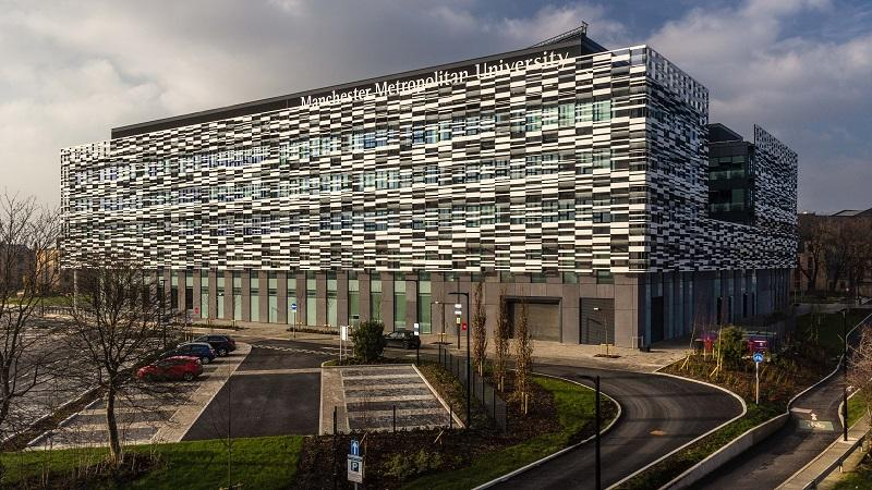 An image of a Manchester Metropolitan University building