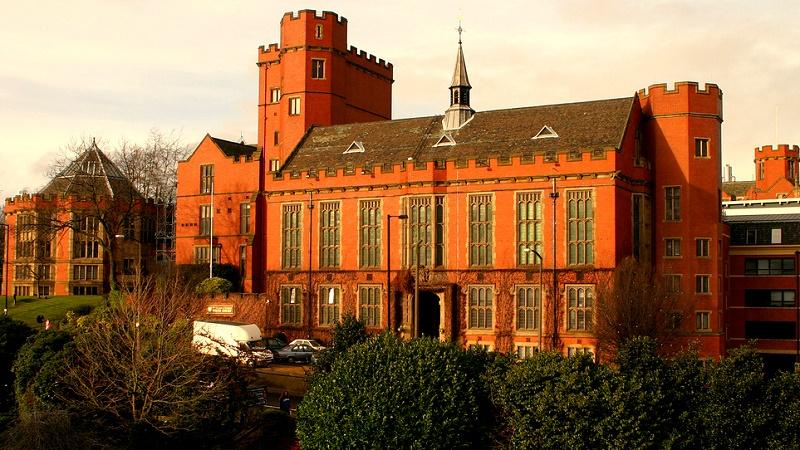 The main building of the University of Sheffield