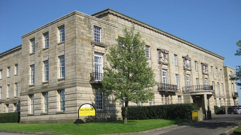 An image of Bury Town Hall
