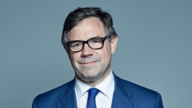 A head-and-shoulders image of Jeremy Quin, minister for implementation