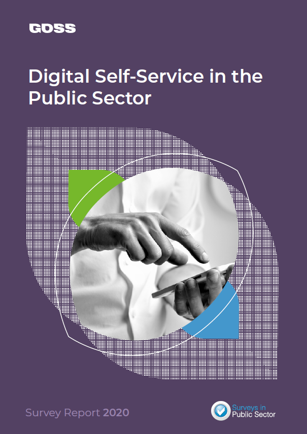 Digital Self-Service in the Public Sector report cover
