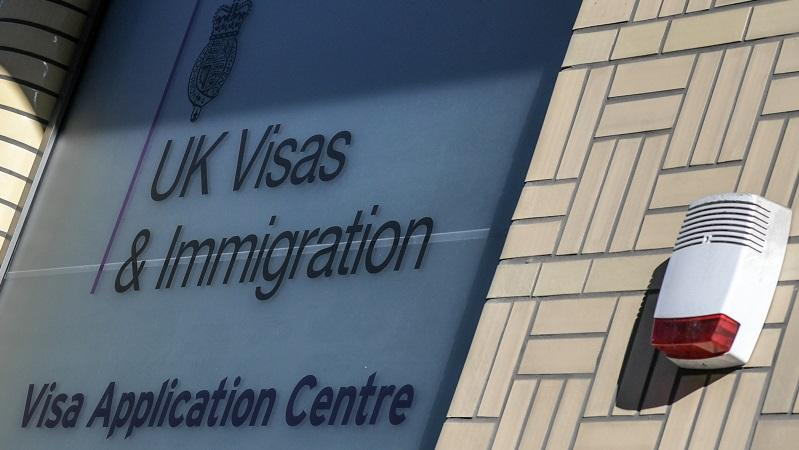 UK Visas and Immigration Photo PA