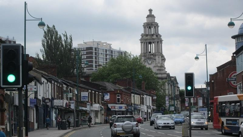 An image of Stockport town centre