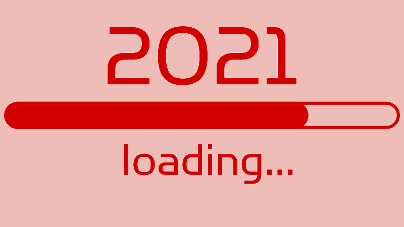 An image of a 2021 loading bar