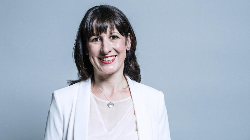 A head-and-shoulders official portrait of Labour shadow chancellor Rachel Reeves