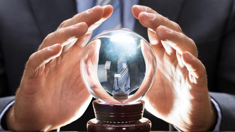 Prediction, future, crystal ball