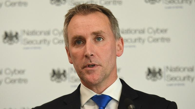 A head-and-shoulders image of National Cyber Security Centre chief executive Ciaran Martin speaking at an event